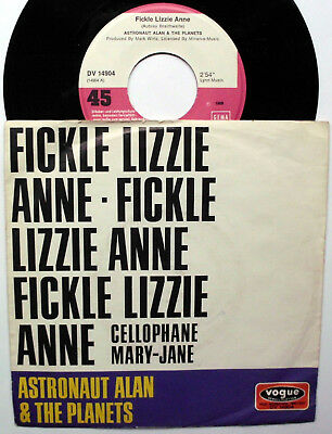 """Astronaut Alan & The Planets: """" FICKLE LIZZIE ANNE """"  Beat 69"""