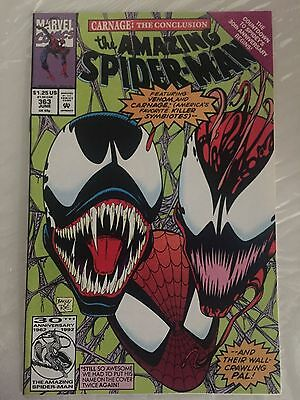 AMAZING SPIDER-MAN #363, CARNAGE, First Print, NM Shape, Marvel Comics (1992)