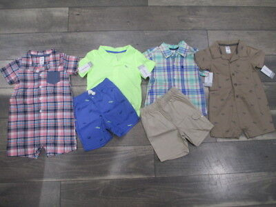 6 piece Lot of Baby Boy Spring/Summer clothes size 24 months NWT
