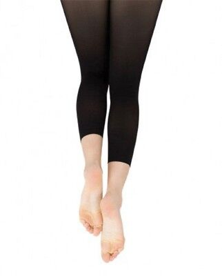 Size 8-14 Capezio Ultra Soft Stirrup Tights for Girls New Style 1861C