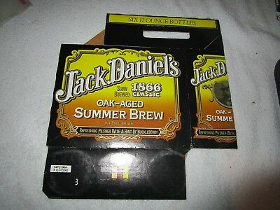Jack Daniel's RARE 1866 Oak-Aged Summer Brew 6 Pack Holder in Very good shape