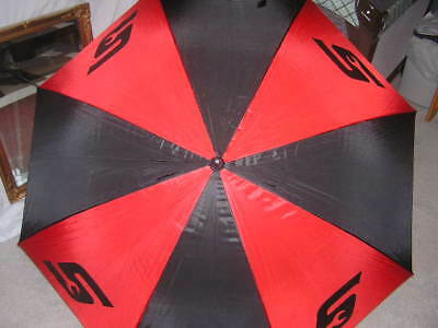 """NEW! Snap-On Limited Edition Black & Red Full 52"""" Canopy Umbrella Tool Handle"""