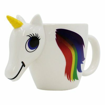 Unicorn Ceramic Color Changing Mug Original 3D Heat Sensitive Magic Coffee Cup