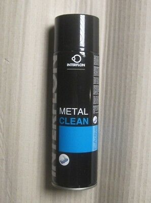 2 x  500ml  INTERFLON Metal Clean (aerosol) 9265