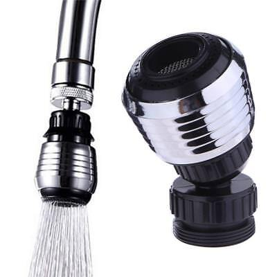 360° Rotary Head Faucet Filter Nozzle Sprayer Kitchen Water Tap Plumbing Saver