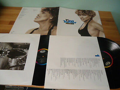 LP 2 LP's TINA TURNER - SIMPLY THE BEST 1991 Vinyl + OIS