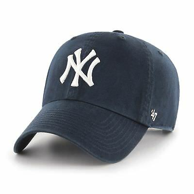 MLB New York NY Yankees Cap navy Basecap adjustable Baseballcap cleanup Logo