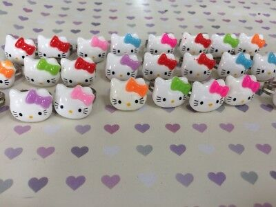 Joblot Bundle Girls Wholesale Hello Kitty Adjustable Rings Party Bags Resell