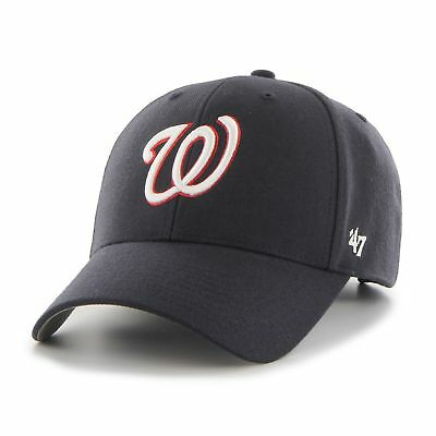 MLB Washington Nationals Cap Basecap Baseballcap MVP 47 Brand navy Kappe