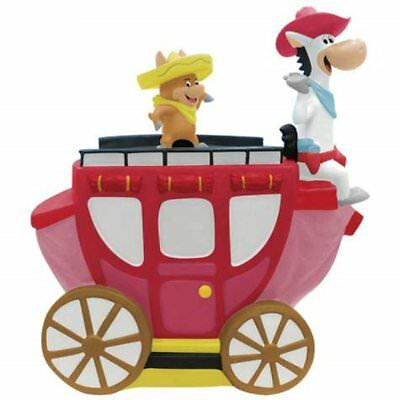Hanna-Barbera Quick Draw McGraw and Baba Looey On Carriage Cookie Jar #23409