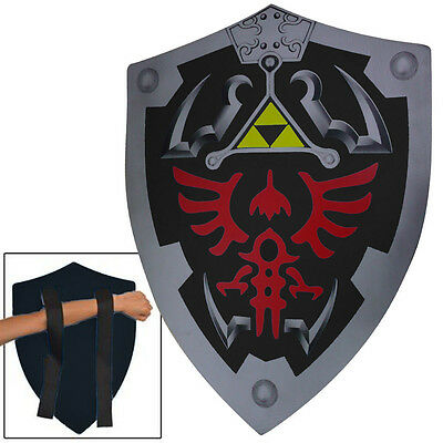 Dark Link Shadow Foam Legends of Zelda Foam Shield LARP Cosplay Costume