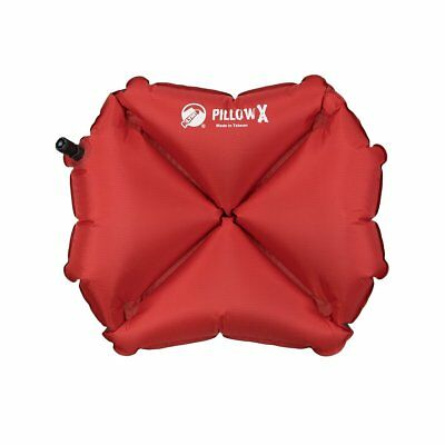 Klymit Pillow X Lightweight Inflatable Outdoor Travel Camping, Red BRAND NEW