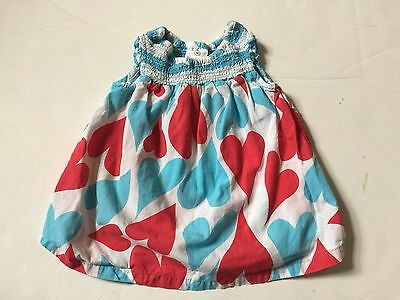 Pre-Owned Infant Girls Hanna Andersson   Dress Size 60