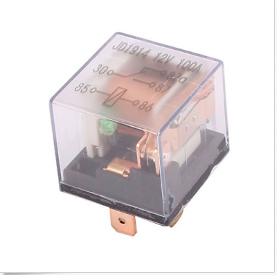 100A 5-Pin SPDT 12V Relay With Harness