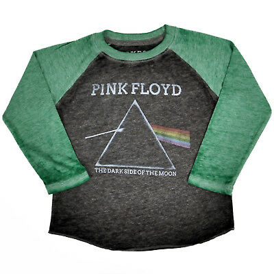 Pink Floyd Dark Side of the Moon Toddler Boys Burnout T-Shirt Size 3T