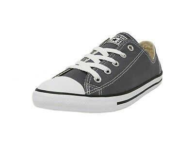 1790f34c8bf Converse Shoes Chuck Taylor All Star Low Top Dainty Ox Gray Canvas Women  Sneaker