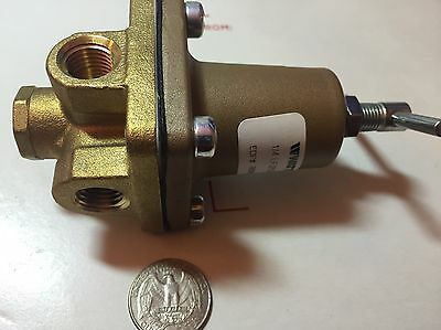 Watts 1/4 LF 263A  3-50PSI Regulator , Lead-Free gold color water fuel oil