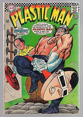 Plastic Man No 5  July August 1967 DC Offer Encouraged Assassin