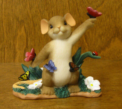Charming Tails #4030952 YOU'VE SHOWN YOUR TRUE COLORS, Enesco by Dean Griff