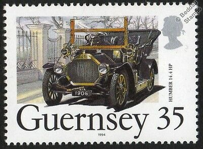 1906 HUMBER 14.4 hp Car Stamp (1994 Guernsey)