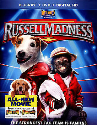 Russell Madness Blu Ray + DVD + Digital HD Strongest Tag Team is Family NEW