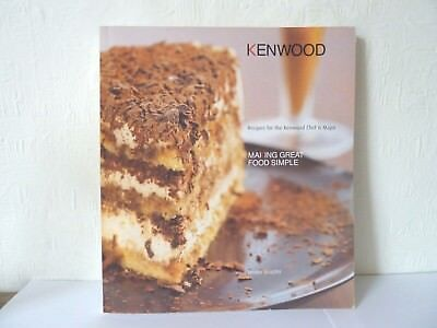Kenwood recipe book for the kenwood chef major 895 picclick uk kenwood recipe book for the kenwood chef major forumfinder Gallery