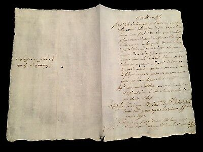 Antique Document 1677