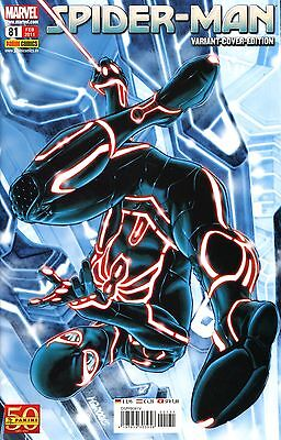SPIDER-MAN #81 deutsch TRON VARIANT-COVER-EDITION  (US Amazing 651) MARK BROOKS