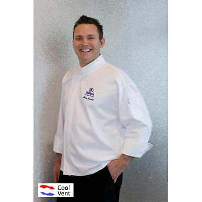 Chef Works Tours Chef Coat Jacket - White - All Sizes - Cool Vent