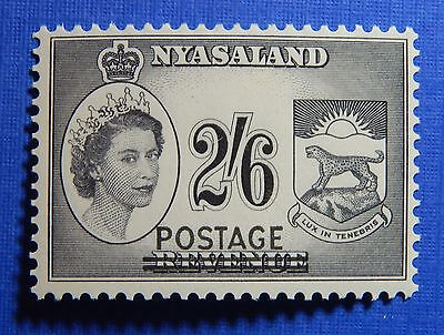 1963 NYASALAND 2S6d SCOTT # 119 S.G.# 195 UNUSED                         CS20859
