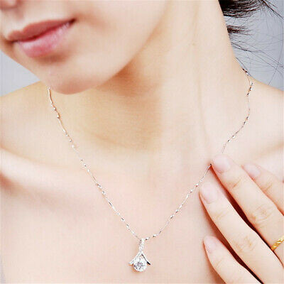 1 Piece Metal Zircon Crystal Charms Pendants for Jewelry Making DIY Necklace