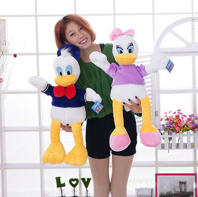 New Disney Comic Mickey Mouse Clubhouse Donald & Daisy Plush Soft Toy Cute