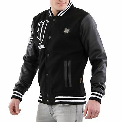 yakuzza college jacke cross bones gr l