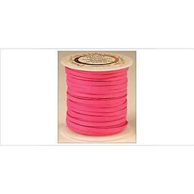 "Tandy Leather Deerskin Lace 1/8"" x 50 Ft Fuchsia 5067-10"