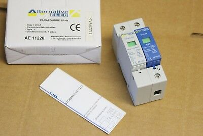 NEUF : Alternative Elec AE11220 - Parafoudre 1P+N 20kA Type 2 - Norme CE
