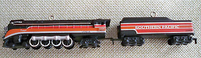 2004 Hallmark Steam Locomotive & Tender Set Miniature Ornament Lionel Southern P