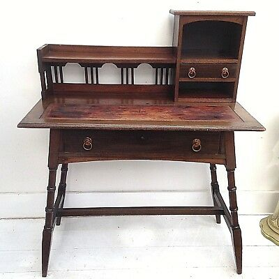 Aesthetic Movement Ladies Desk in the manner E.W.Godwin - Arts & Crafts Movement
