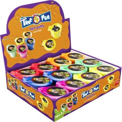 Fart Putty, Assorted Colors - Puttyturdin Toiletdisplay