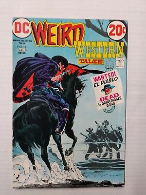 Weird Western Tales #15 (1973), FN Shape,  DC Comics, Free Shipping!