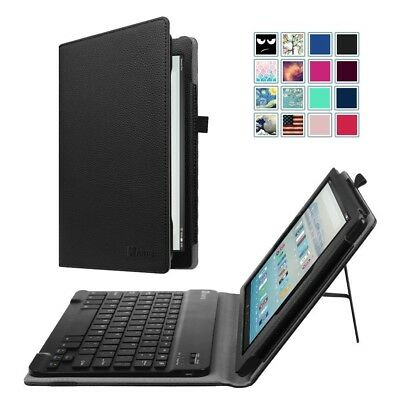 For All-New Amazon Fire HD 10 (7th, 2017) Case Stand Cover + Bluetooth Keyboard