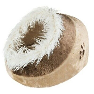 Trixie Pet Products Minou Cuddly Cat Bed - Cave Beige Kitten Warm Igloo 36281