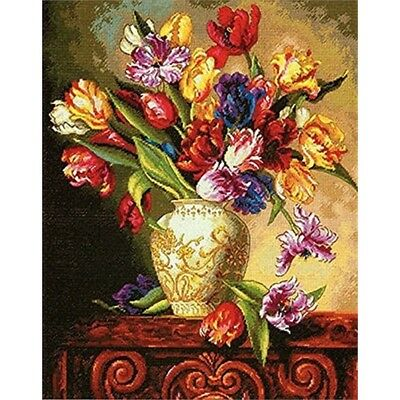 Dimensions Counted X Stitch -gold, Parrot Tulips - Cross Gold Kit D7035305 18