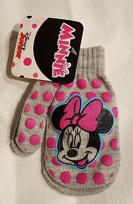 Girls Toddler Minnie Mouse Mittens-OSFM