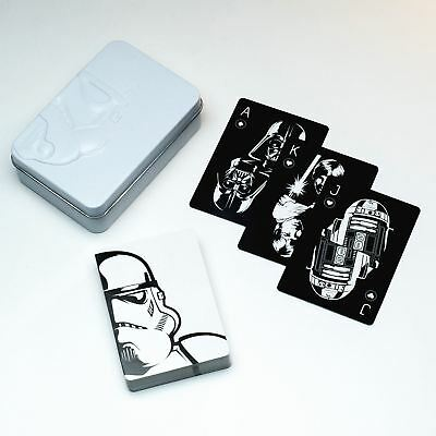 Official Star Wars Playing Cards Poker Deck In Tin