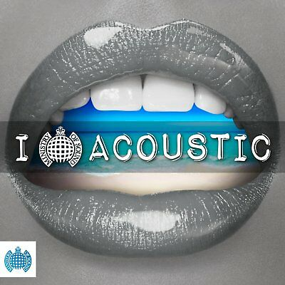 I LOVE ACOUSTIC (Ministry of Sound) 3 CD SET (2018)