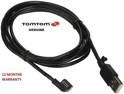 Genuine Tomtom Start 40 / 42 / 50 / Usb Car Charger Data Cable Lead- Warranty