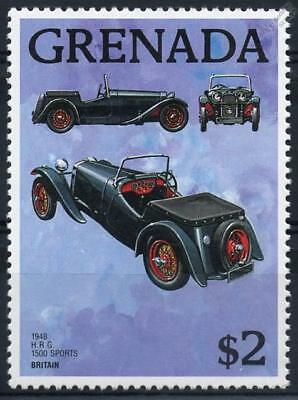 1948 HRG H.R.G. 1500 SPORTS ROADSTER Automobile Car MNH Stamp (1988 Grenada)
