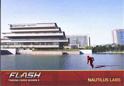The Flash Season 2 Flash Stamped Parallel Locations Chase Card L09