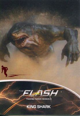 The Flash Season 2 Flash Stamped Parallel Metas Chase Card MT07