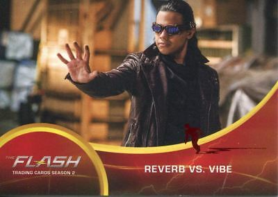 The Flash Season 2 Red Scarlet Speeder Stamped Parallel Base Card #40